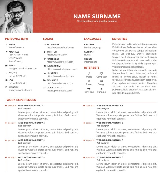 21  web designer resume templates