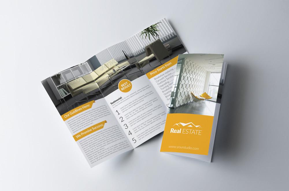Elegant Real Estate Brochure Template