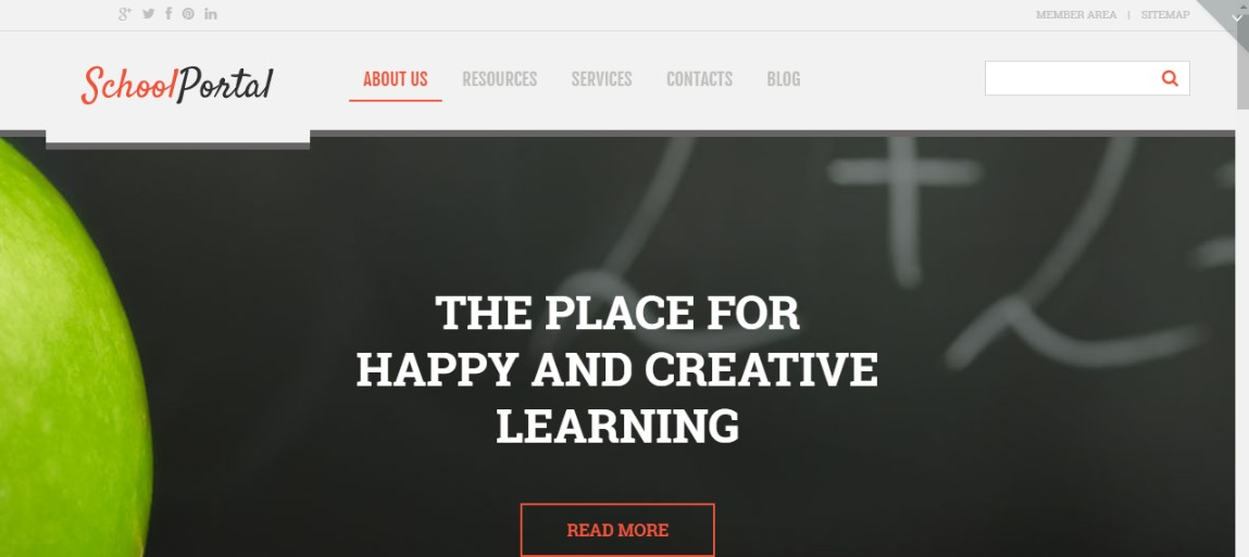 Elementary School WordPress Theme