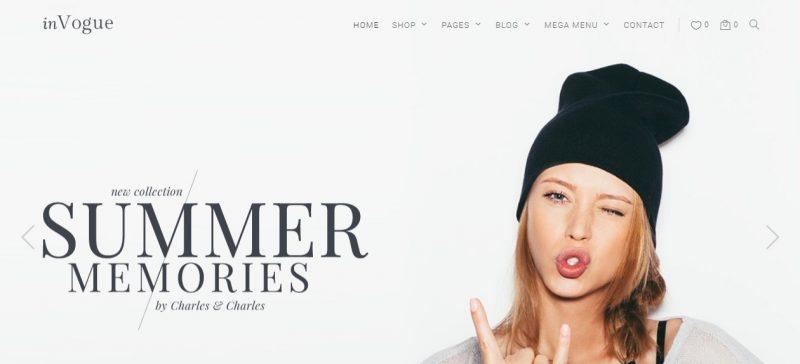 Fashion SEO WordPress Theme