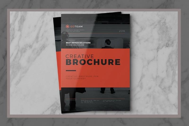 Fully Editable Brochure Template