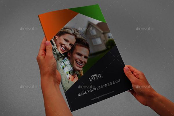 Fully Editable Real Estate Brochure Template