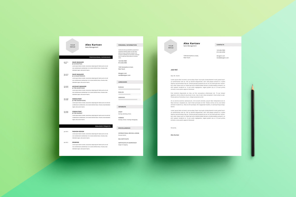 10 sales resume template word psd eps and ai format