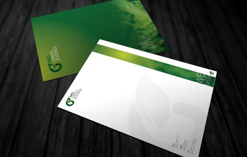 Green Business Identity Template