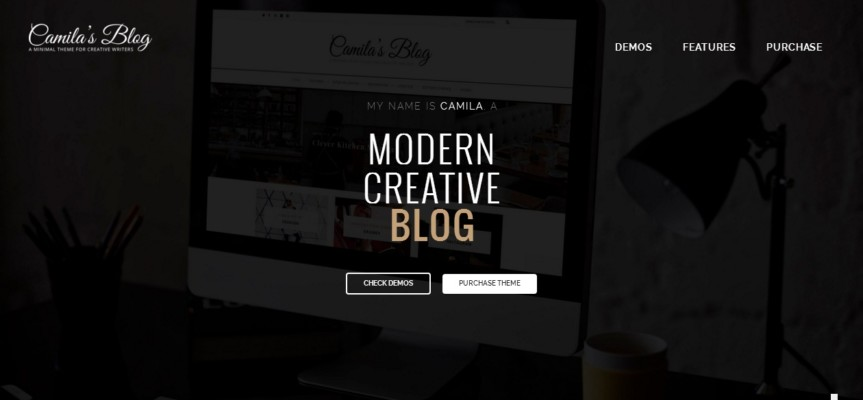 Hipster Photography Blog Theme