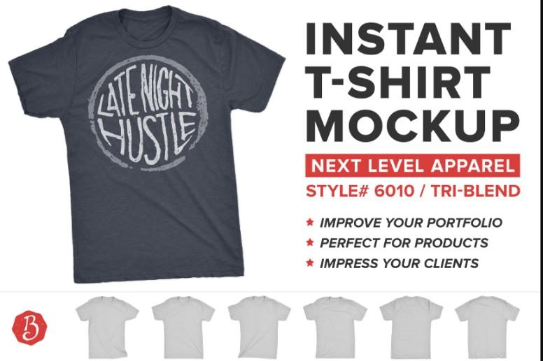 Instant T Shirt Mockup
