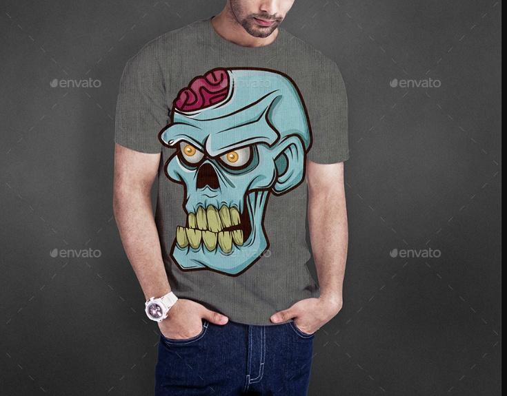 Isolated T Shirt Mockup PSD