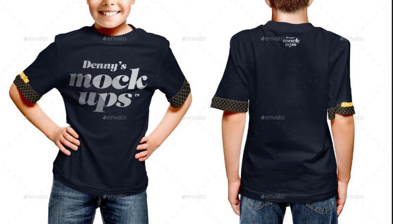Kid T Shirt Mockup