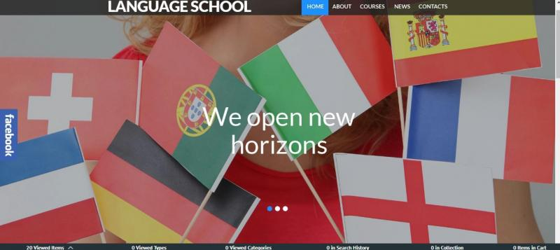 Language School WordPress Theme