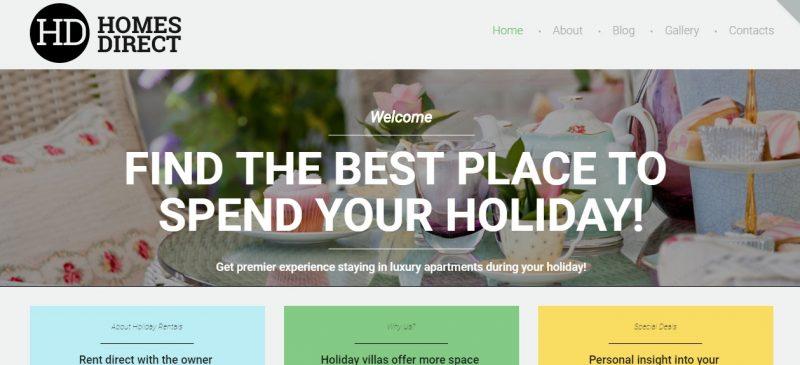 Luxury Real Estate WordPress Theme