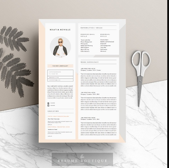 MS Word IT Resume Template