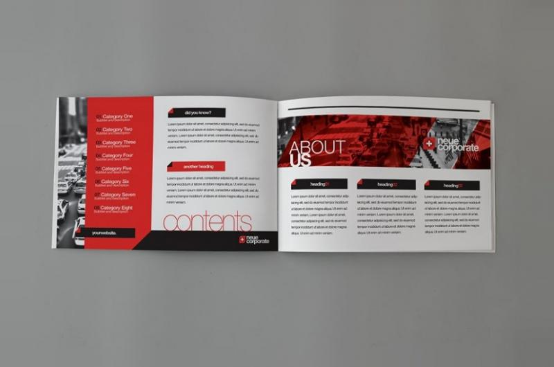 Modern Corporate Brochure Template