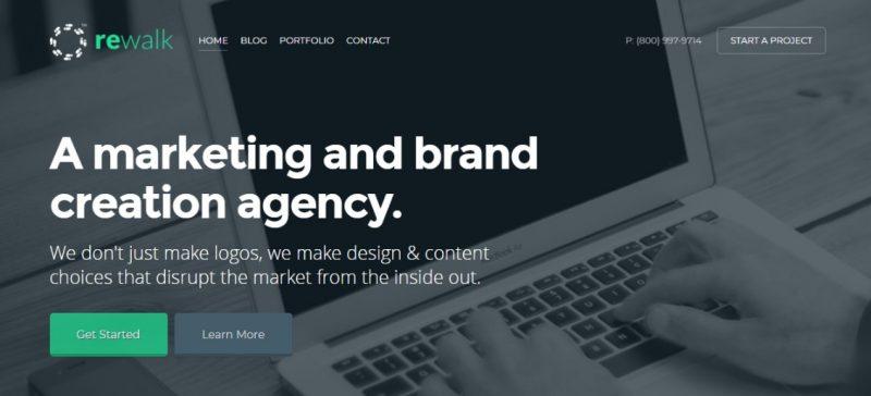 Modern Business WordPress Theme