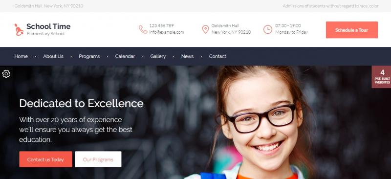 Modern Educaiom WordPress Theme