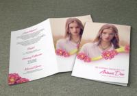 Modern Funeral Brochure Template Word Format