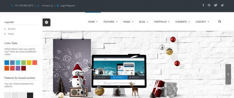 Modern Professional WordPress Theme