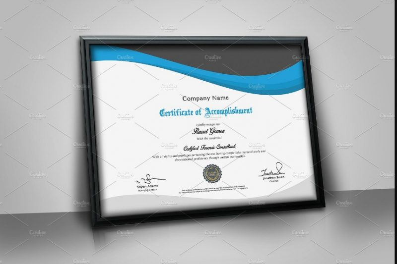 Multipurpose Certicate of Attendance Template