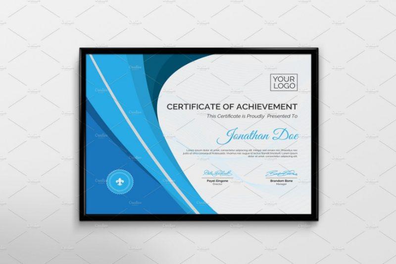 Multipurpose Certificate of Achievement Template