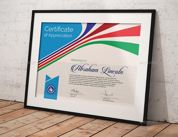Multipurpose Certificate of Appreciation Template
