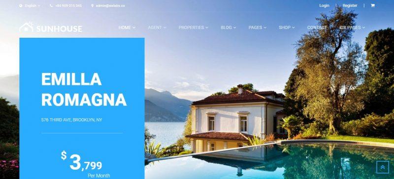 Multipurpose Real Estate WordPress Theme