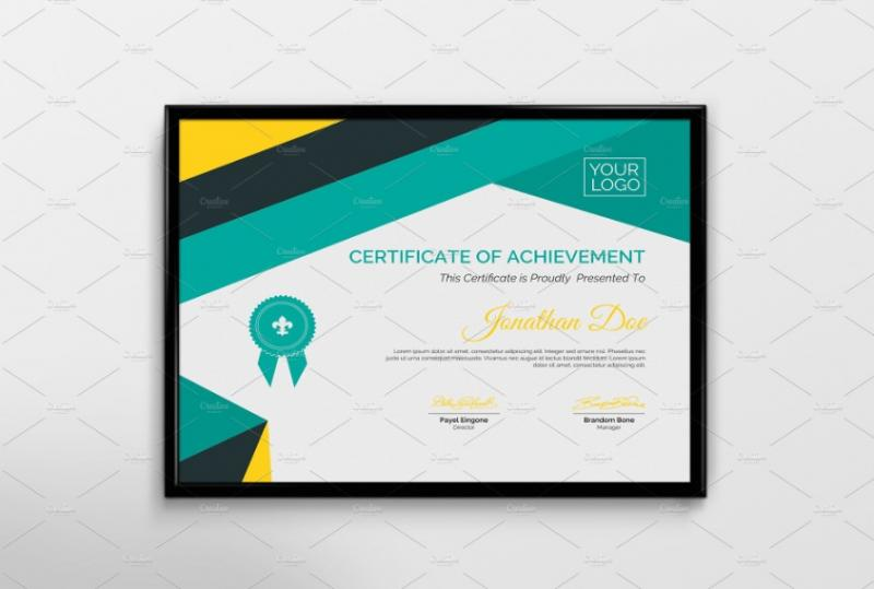 Multipurpose Training Certificate Template