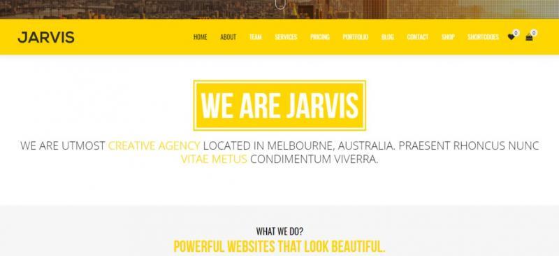 One Page Parallax WordPress Theme