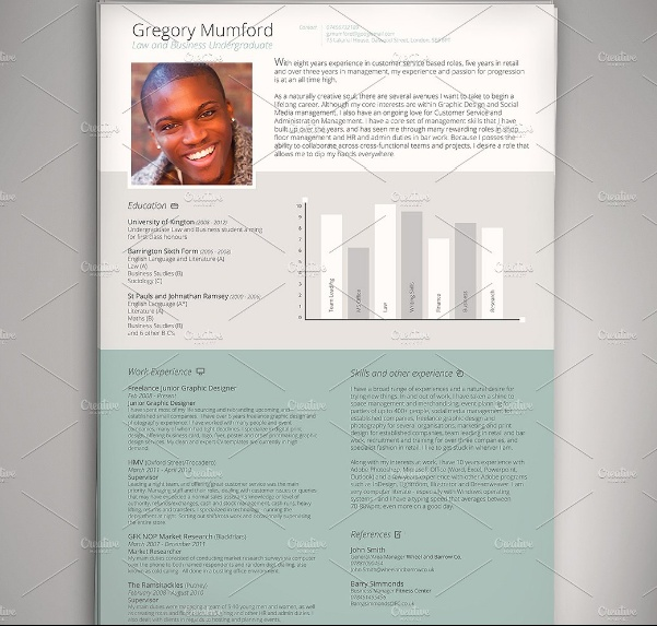 PSD CEO Resume Template
