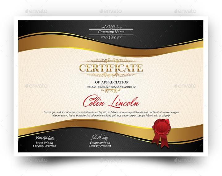 PSD Certificate of Achievement Template