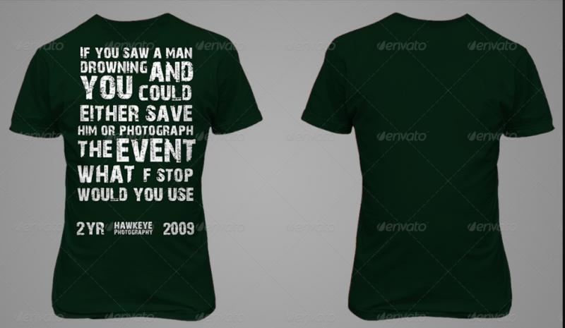 PSD T Shirt Mockup
