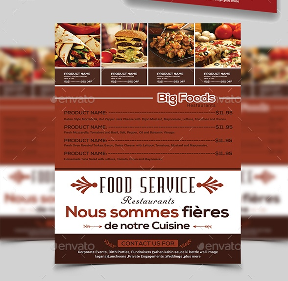 PSD and Ai Flyer Template