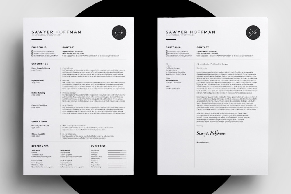 PSD and Indesign Resume Template