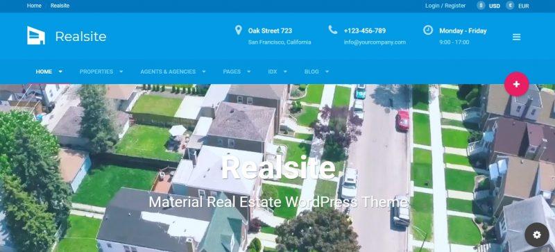 Perfect Real Estate WordPress Theme