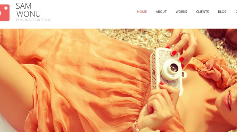 Personal Photography Portfolio Wordpress Theme