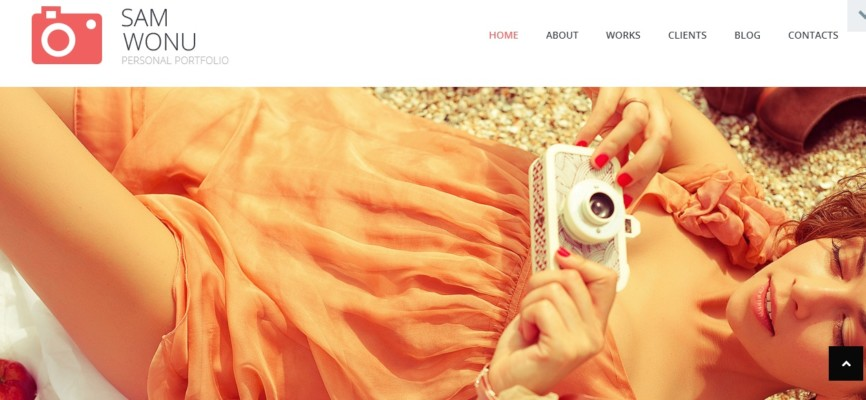 Personal Photography Portfolio WordPress Theme