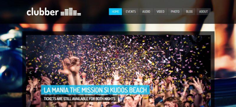 Personalised Music WordPress Theme