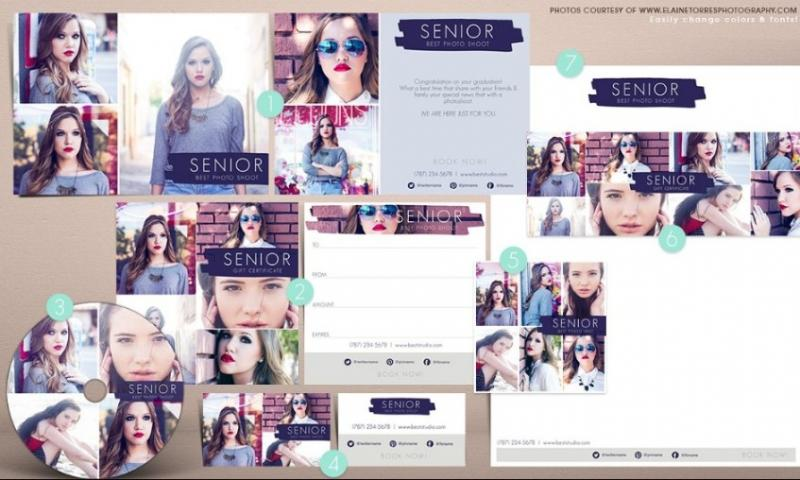Photo Marketing Template PSD