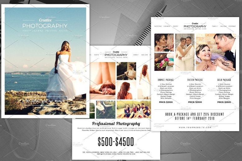 Photography Promotional Flyer Template