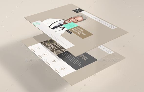 Photorealistic-PSD-Website-Mockup