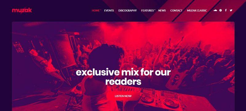 Populal WordPress Music Theme