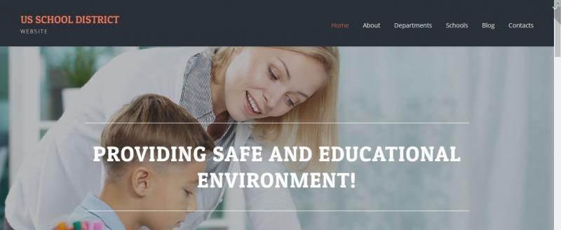 Primary School WordPress Theme