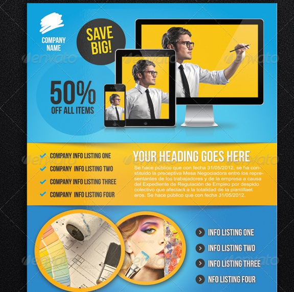 Print Ready Ad Flyer Template