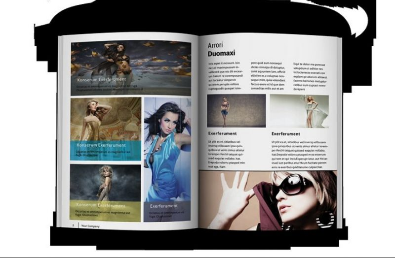 Print Ready Fashion Brochure Template