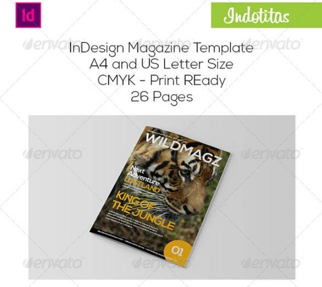 Print Ready Magazine Template