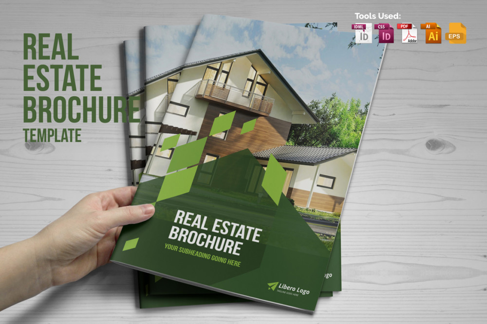 Print Ready Real Estate Brochure Template