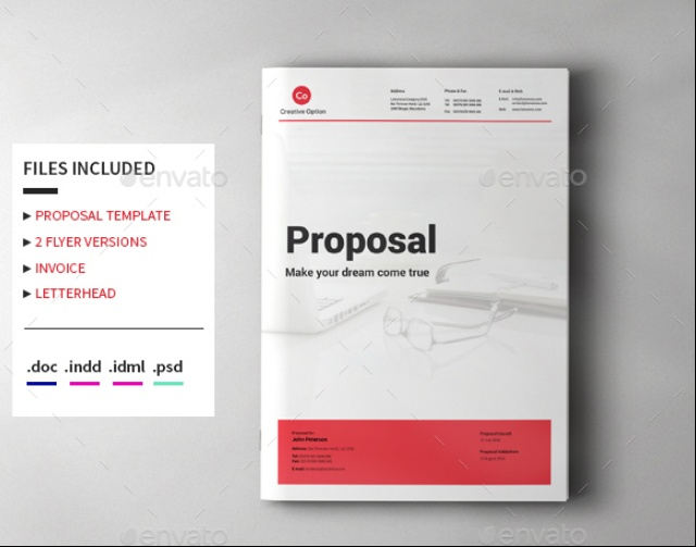 10 Product Marketing Proposal Template Word Psd And Indesign