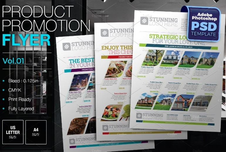 Product Promotional Flyer Template