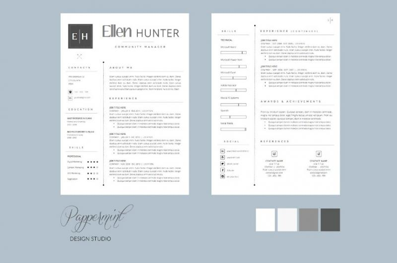 Professional Resume Cover Letter Template
