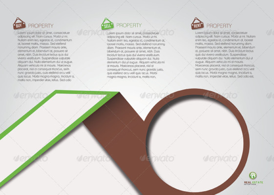 Property Advertisement Brochure Template