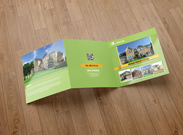Real Estate Company Brochure Template