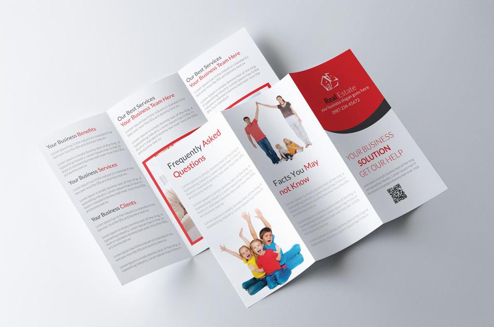 Real Estate PSD Brochure Template